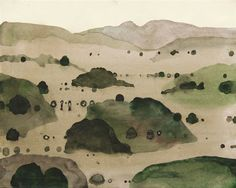 Jan Tarasin, Little Mountains I