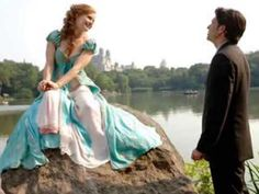 """Day 11 of the 30 Day Disney Challenge, Favorite Love Song: """"How Does She Know?"""" I'm not sure that this is actually my favorite, but Amy Adams makes the perfect over-the-top princess, and Patrick Dempsey is an hilarious love interest. It's a great song. Giselle Enchanted, Enchanted Movie, Disney Enchanted, Enchanted Princess, Patrick Dempsey, Disney Pixar, Walt Disney, Family Movie Night, Family Movies"""