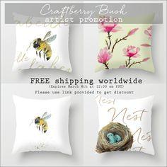 Craftberry Bush | Free Easter nest watercolor printable | http://www.craftberrybush.com