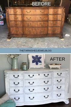 Looking to learn how to white-wash furniture. T don't know where to start try painting 101 white-washed dresser tutorial by -wash -washfurnituretutorial White Washed Bedroom Furniture, Refinished Bedroom Furniture, Distressed Furniture, White Furniture, Repurposed Furniture, Painting Furniture White, Furniture Refinishing, Funky Furniture, White Bedroom