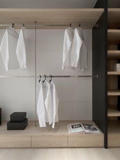 Attractive Dressing Room Design Ideas For Inspiration - COODECOR - Attractive Dressing Room Design Ideas For Inspiration 28 - Walk In Closet Design, Bedroom Closet Design, Wardrobe Design, Closet Designs, Dressing Ikea, Dressing Room Design, Wardrobe Room, Built In Wardrobe, Floor To Ceiling Wardrobes