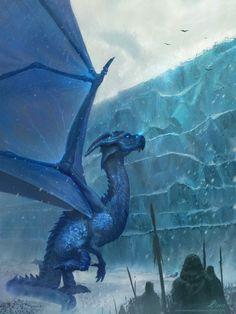 Ice Dragon by Marina Beldiman
