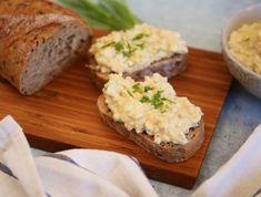 Egyszerű tojáskrém Recept képpel - Mindmegette.hu - Receptek Egg Salad, Baked Potato, Banana Bread, Cake Recipes, Eggs, Make It Yourself, Dinner, Breakfast, Ethnic Recipes