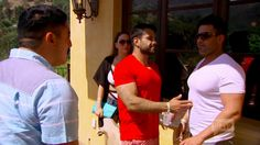 Shervin steers Mike out of the party area so they can talk. Shervin breaks the news to Mike regarding what GG is saying behind his back to anyone and... Come on! Let's hear your thoughts, snarks and please read more at: http://allaboutthetea.com/2015/03/31/shahs-of-sunset-recap-s4e5/