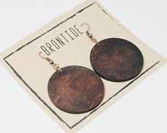 Australian gift drop earrings wooden earrings hoop | Etsy Wooden Earrings, Unique Earrings, Boho Earrings, Unique Jewelry, Silver Earrings, Drop Earrings, Hessian Bags, Australian Gifts, True Beauty