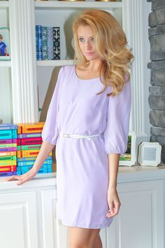 To Catch A Husband Tunic-Lavender - $39.00