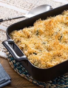 This combination of wholesome pasta and melty cheese is hard to resist.