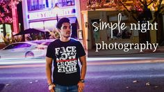 Simple Night Photography how to behind the scenes beginner photography tricks and tips off camera flash