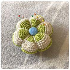 Endlich ein Nadelkissen - Nephi-Handmade  #crochet  #häkeln #nephihandmade