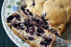 Blueberry Greek Yogurt Banana Bread (I love when I see a recipe that sounds like something I really want to try and I already have all the ingredients!)