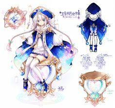Fantasy Character, Kid Character, Character Concept, Anime Fantasy, Fantasy Art, Anime Chibi, Anime Art Girl, Anime Guys, Manhwa