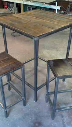 Modern/Rustic Bar Set