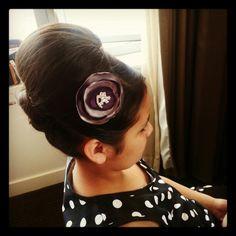 Flowergirl hair www.theamazingbride.com