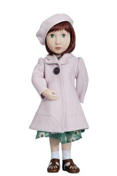 Clementine's Pink Coat & Beret | A Girl for All Time®