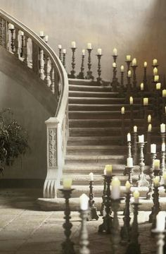 Candle  staircase
