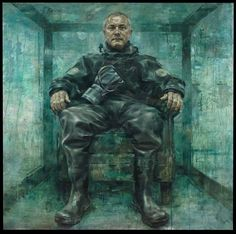 Damien Hirst Jonathan Yeo 2013 Oil on canvas  153cm x 153cm