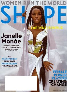 SHAPE MAGAZINE SEPTEMBER 2020 JANELLE MONAE ALEX MORGAN AYESHA CURRY RUBY ROSE