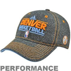 official photos a2020 e3523 adidas NBA Denver Nuggets Authentic Performance Practice Graphic Flex Hat,   9.99