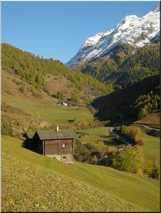 Barns in Binntal, Valais