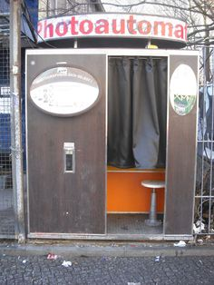 Every teen had their picture taken in one of these back in the 50's.