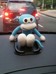 Häkeln-Crochet **Affe**