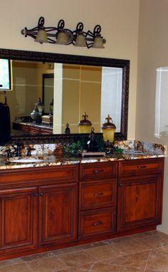 tuscan bathroom image - Yahoo! Search Results