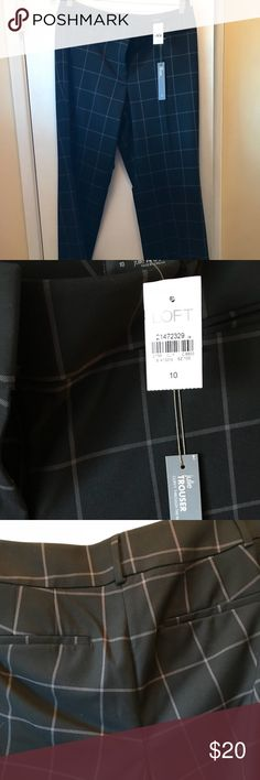 Brand New Pants Brand new Julie trousers from The Loft.  Size 10. LOFT Pants Trousers