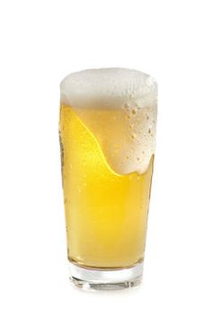 Frosty Cold Beer Glass