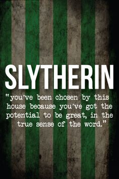 Slytherin Challenge Day 2: Do you think the Sorting Hat would put you in Slytherin if you went to Hogwarts?: It definitely would, and if it didn't, I would make it. I am a true Slytherin at heart, Pottermore tells me so.