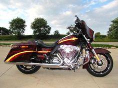 #harley 2010 Harley-Davidson Touring CVO STREET GLIDE 2010 HARLEY-DAVIDSON CVO STREET GLIDE FLHXSE SCREAMIN EAGLE 110CI please retweet