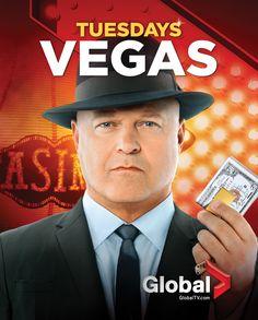 #Vegas - Tuesdays beginning September 25 on Global #TeamSavino