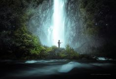 Earlier in the week I managed to finish an image of Punchbowl Falls that I tried to put a fair bit of atmosphere and story book feeling into that particular image was 1 frame and beyond the colour and tonal tweaks pretty true to the location. Moving on from that image it inspired me to push the concept right past real world and into the fantasy type look some more.  This is a waterfall found on the Haast Pass which is full of epic waterfalls you could spend days just exploring that one…
