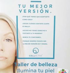 """Mañana tenemos en la farmacia el taller """"ilumina tu piel"""" por gentileza de cellactive. En grupos de 3-4 personas en varios turnos (a las 10.00 a las 12.00 y a la 13.00) se realizará de manera gratuita una limpieza de rostro con exfoliación y posterior aplicación de ampolla flash. Os esperamos a tod@s!!! Llamarnos para reservar vuestro tratamiento gratuito!  #farmaciapuchades #tallerbelleza #cellactive #monteolivete"""