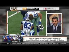 ESPN First Take - Today (9/12/2016) Allen Iverson, Shaq, Cowboys & Jimmy...