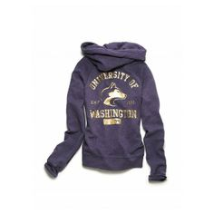 Victoria's Secret - University of Washington bling hoodie. @Kayla Holmes you need this :)