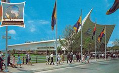1964 - 1965 New York World's Fair - The General Motors Futurama Building.