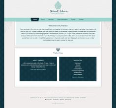 Saira E John, PhD in Westlake Hills, TX: Website Design and Development: Beautiful and Simple!