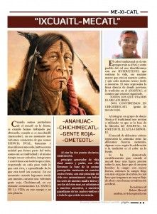 A Spanish article about the uses of the red bandana/ribbon that are worn on the forehead during ceremony.