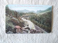 DUFFIELDS, CRIPPLE CREEK SHORT LINE, COLORADO. - EARLY 1900'S POST CARD - 1909