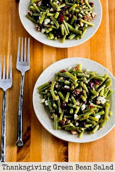 and make this amazing Thanksgiving Green Bean Salad with Blue Cheese ...