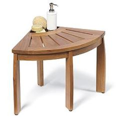 I purchased this teak shower seat for our large walk in shower which has everything but seating. A quality piece, reasonably priced (I shopp...