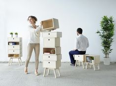 Transformer Chic: 15 Cool Pieces of Convertible Furniture via Brit + Co