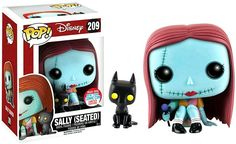 The Nightmare Before Christmas Funko POP! Disney Sally (Seated) with Cat Exclusive Vinyl Figure #209