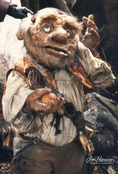 From Jim Henson's Red Book:    Hoggle, Sarah's hostile guide through the Labyrinth, is one of the most important characters in the film both thematically and technically. The animatronics used to perform him were ground-breaking and opened up tremendous possibilities for expressive performances.