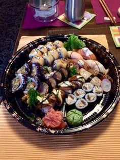 Tempura Sushi, Food, Meals, Yemek, Eten
