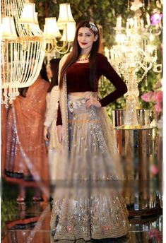 Check Out INDIAN Luxury Embroidered Party Wear Velvet Collection Replica at Master Replica Pakistan Call/WhatsApp: Party Wear Indian Dresses, Pakistani Wedding Outfits, Indian Gowns Dresses, Dress Indian Style, Pakistani Dresses, Shadi Dresses, Bridal Outfits, Bollywood Wedding, Evening Dresses