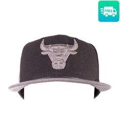 (Sponsored)eBay - NEW ERA X NBA Baseball Cap Size S-M Wool Blend Chicago Bulls Logo 9FIFTY