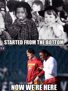 Kirk Cousins and Robert Griffin III Be Like..