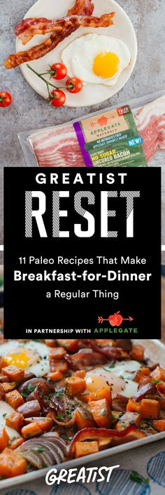 It's as if you're turning your kitchen into a late-night Paleo diner.  #greatist https://greatist.com/eat/paleo-breakfast-recipes-to-make-for-dinner