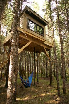 Cabanita Eco-Resort In Notre-Dame-de-la-Merci, Lanaudière (Ouareau Forest Regional Park), Québec
